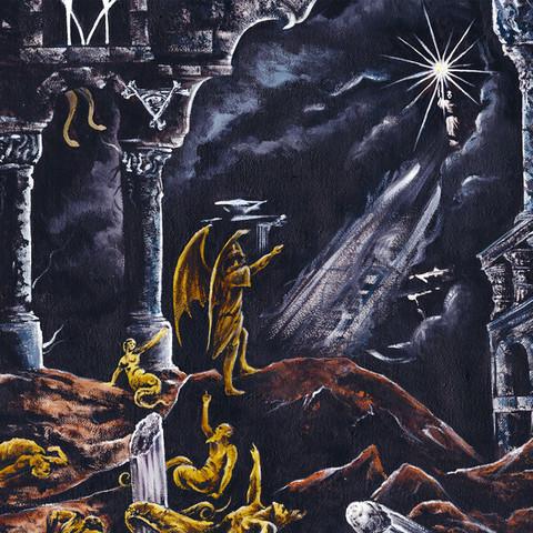 Malum  – Night of the Luciferian Light (CD, käytetty)