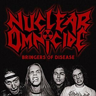 Nuclear Omnicide – Bringers Of Disease (CD, used)