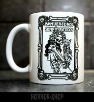 La muerte no sonrie a todos-mug