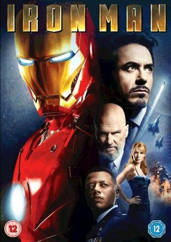Iron Man (DVD, käytetty)