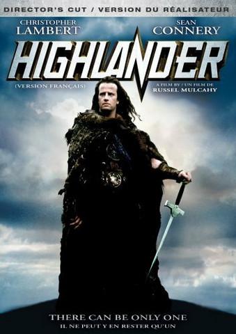 Highlander – kuolematon (DVD, käytetty)