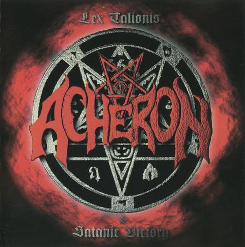 Acheron – Lex Talionis / Satanic Victory (CD, used)