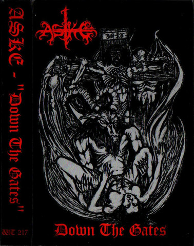 Aske  – Down The Gates (CD, new)
