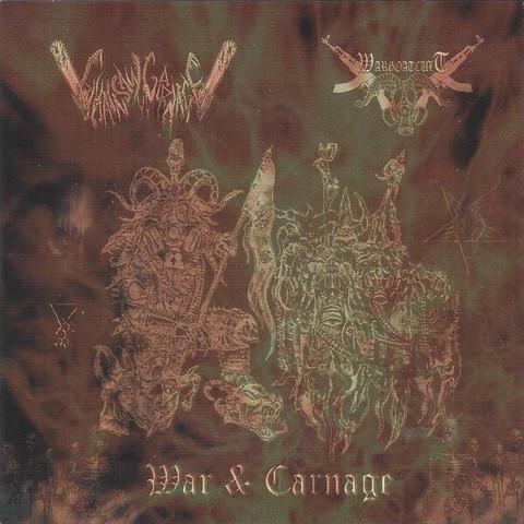 Chainsaw Carnage / Wargoatcult – War & Carnage (CD, new)