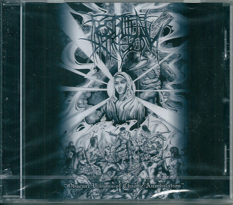 Frostbitten Kingdom – Obscure Visions Of Chaotic Annihilation (CD, käytetty)