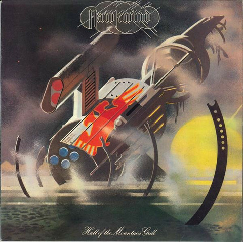 Hawkwind – Hall Of The Mountain Grill (CD, used)