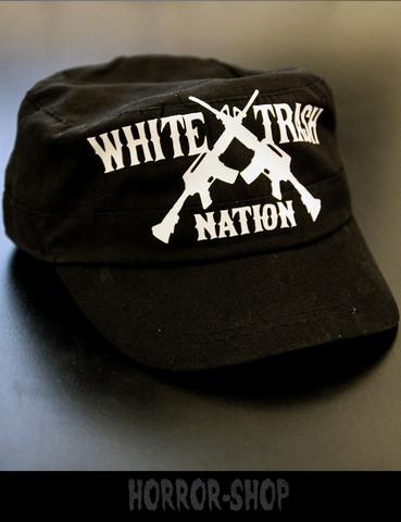 White trash nation army cap