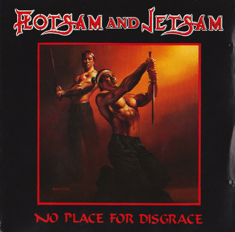 Flotsam And Jetsam – No Place For Disgrace (vinyl LP käytetty)