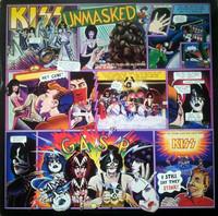 Kiss – Unmasked (LP käytetty)