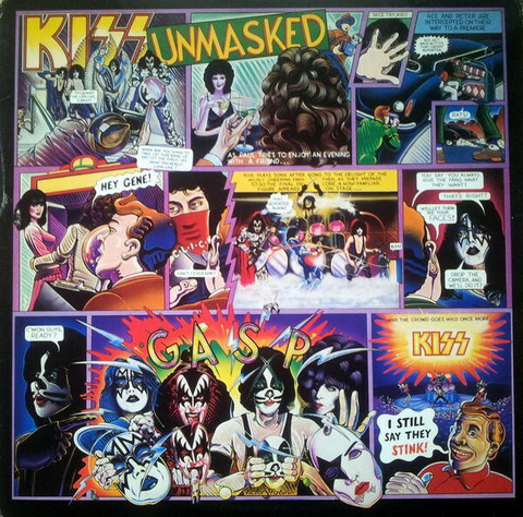 Kiss – Unmasked (LP used)