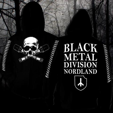 Black Metal Division Nordland (hoodie with zipper)
