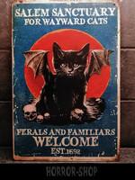 Salem Cat peltikyltti 20cm * 30cm