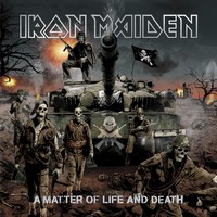 Iron Maiden - A matter of life and death (CD, Käytetty)