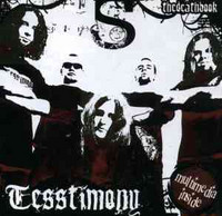 Tesstimony - Thedeathbook (CD, Used)