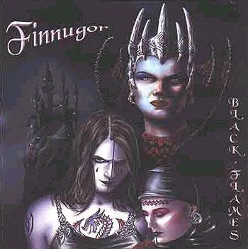 Finnugor - Black Flames (CD, Used)