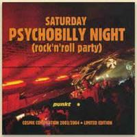 V/A - Saturday Psychobilly Night Rock'n'Roll Party (CD, Uusi)