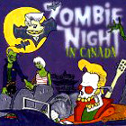 V/A - Zombie Night In Canada (CD, Uusi)
