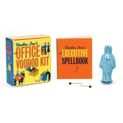 The Mini Office Voodoo Kit (Blue Q Mega Mini Kits)