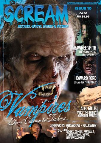 SCREAM: The Horror Magazine (ISSUE 10)