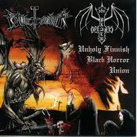 BLACK BEAST/BLOODHAMMER - Unholy Finnish Black Horror Union (CD, Used)