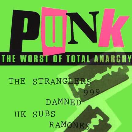 V/A - Punk - The worst of total anarchy (käytetty)