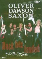 Oliver Dawson Saxon - Rock has landed - It's alive (DVD,used)