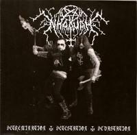 Nhaavah - Kings Of Czech Black Metal + Detremination - Detestation - Devastation (CD, Käytetty)