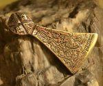 VIKING AXE MAMMEN, bronze pendant