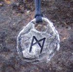 Mannaz - Rune Pendant