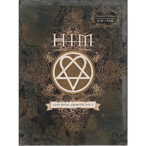 HIM : Love Metal Archives Vol 1 Limited Edition (käytetty)