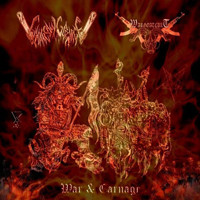 Chainsaw Carnage / Wargoatcult - War & Carnage (CD, New)