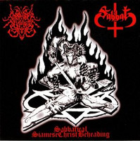 Sabbat/ Surrender Of Divinity – Sabbatical Siamese Christ Beheading (CD, Used)