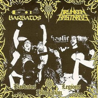 Barbatos / Drünken Bastards– Barbatos Hungarian Legions (CD, Käytetty)