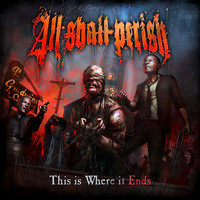 All Shall Perish – This Is Where It Ends (CD, Käytetty)