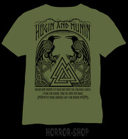 Hugin and Munin (green)