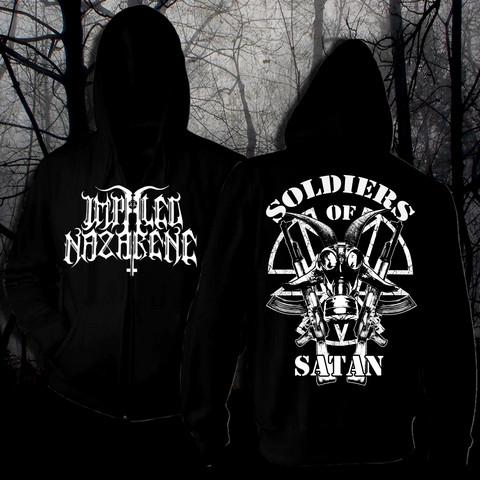 Impaled Nazarene Soldiers of Satan hoodie