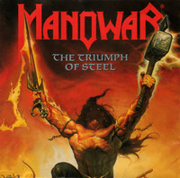 Manowar - The triumph of steel (used)