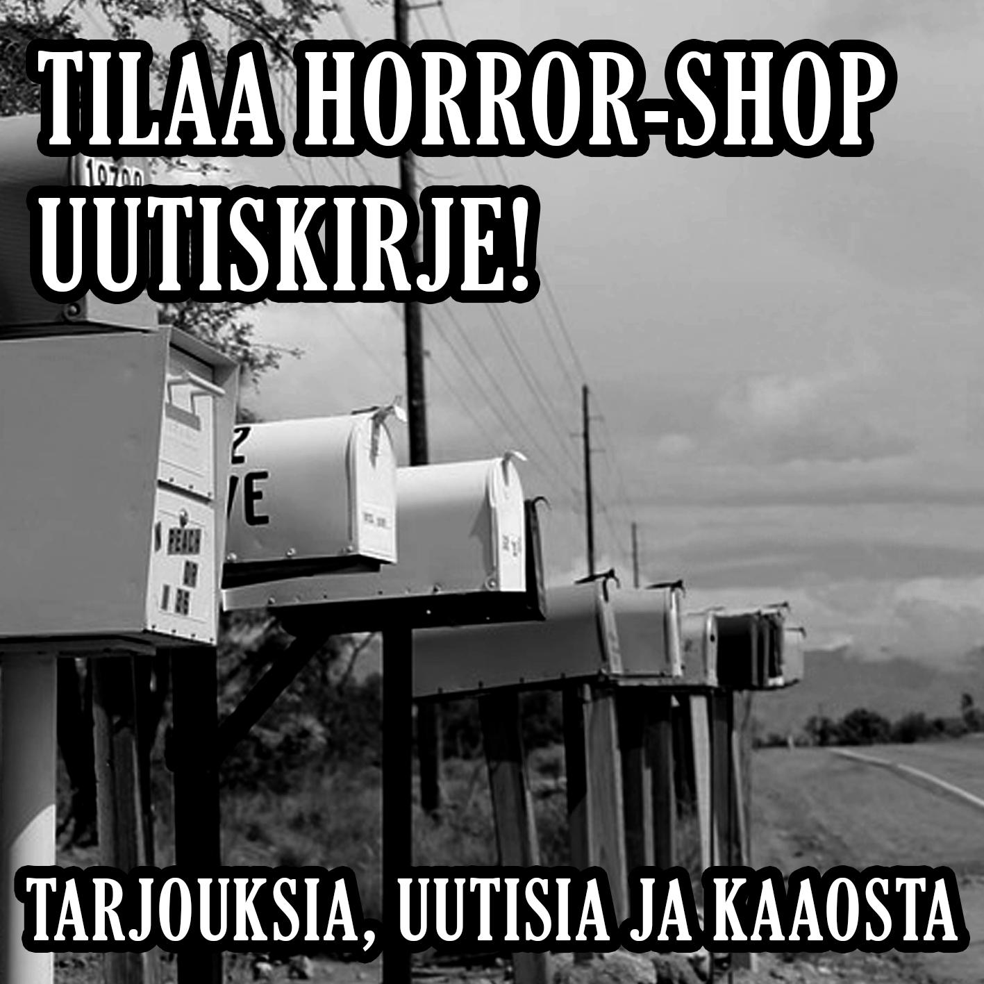Lity Horror-Shop uutiskirjeen tilaajiin!