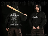 From Finland With Hate (Hoodie with zipper)