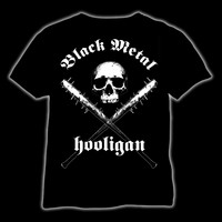Black Metal Hooligan (T-Shirt, Tanktop & Ladyfit)