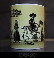 Dia de muerto mug, dessert theme
