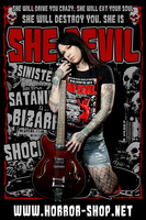 She Devil, t-shirt and ladyfit