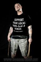 Support your local SARS-CoV-2 Virus, T-shirt & Ladyfit