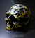 Gold plated skull