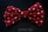 Hair decoration,  Polkadot red