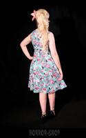 Light blue flamingo dress
