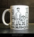 Mom Dad Me and Satan -mug