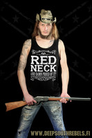 Redneck and damn proud of it! LadyFit, tanktop and T-Shirt