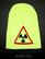 Nuclear beanie, neon green