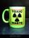 Toxic waste (mug) neon yellow